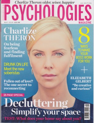 Psychologies May 2016 Cover